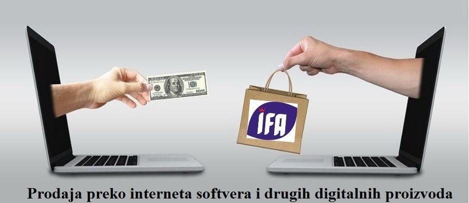 Prodaja softvera preko interneta